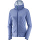 """Salomon W's Right Nice Mid Hoodie Jacket Medieval Blue"""